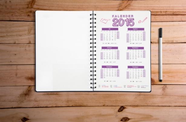 jurnal kalender